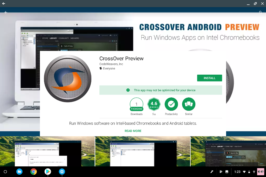 install crossover from the google play store - how to download fortnite on chromebook without crossover